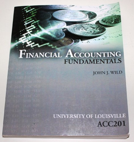 9780077593018: Financial Accounting Fundamentals (University of Louisville)