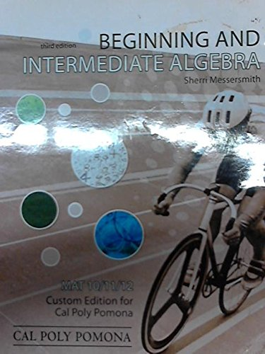 9780077594473: Beginning and Intermediate Algebra (MAT 10/11/12)