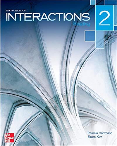 Interactions Level 2 Reading Student Book: Hartmann, Pamela; Kirn,