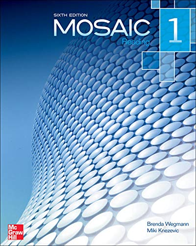 9780077595111: Mosaic Level 1 Reading Student Book