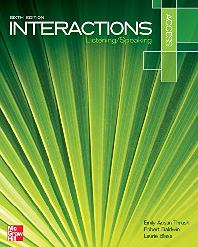9780077595173: Interactions Access Listening/Speaking Student Book
