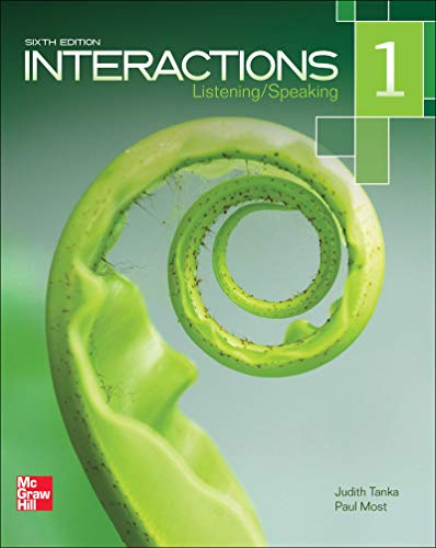 9780077595180: Interactions Level 1 Listening/Speaking Student Book