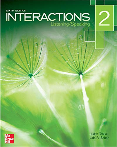 9780077595197: Interactions Level 2 Listening/Speaking Student Book (Book Only / No Access Code provided)