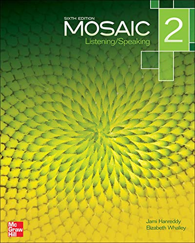 9780077595210: Mosaic Level 2 Listening/Speaking Student Book