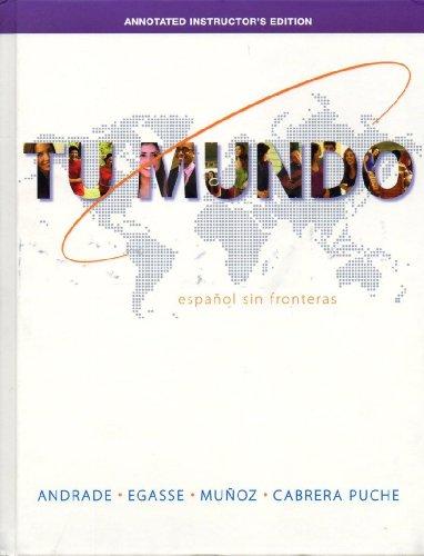 9780077595739: Tu Mundo: Espanol Sin Fronteras