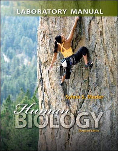 9780077596026: Lab Manual for Human Biology