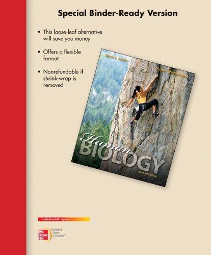 9780077596101: Loose Leaf Version for Human Biology