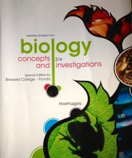 9780077598532: Biology Concepts and Investigations Selected Chapters Special Edition for Broward College-florida with Connect Plus Access Card