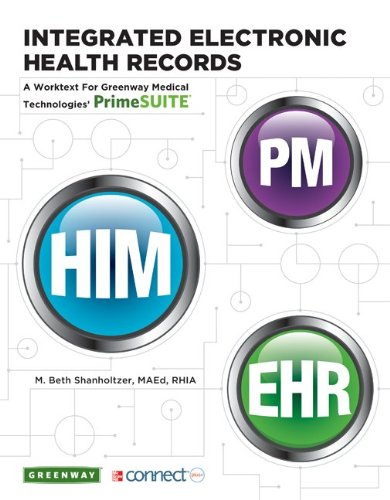 9780077598549: Integrated Electronic Health Records w/ PrimeSuite EHR Connect Plus