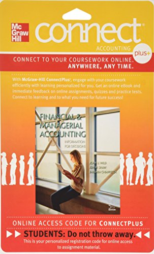 9780077598617: Connect 2-Semester Access Card for Financial and Managerial Accounting