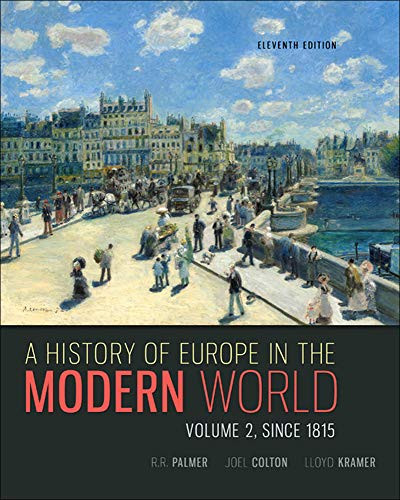 9780077599584: A History of Europe in the Modern World, Volume 2