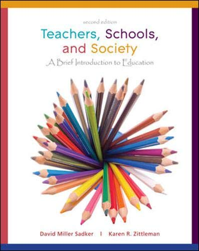 9780077599768: Teachers, Schools, and Society: A Brief Introduction to Education [With Booklet]