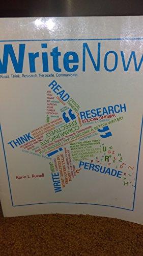 9780077599850: Write Now