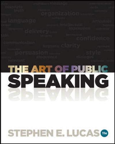 9780077601706: The Art of Public Speaking with Connect Access Card