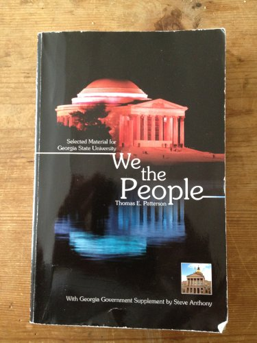 9780077602710: We the People (Georgia State University Edition)