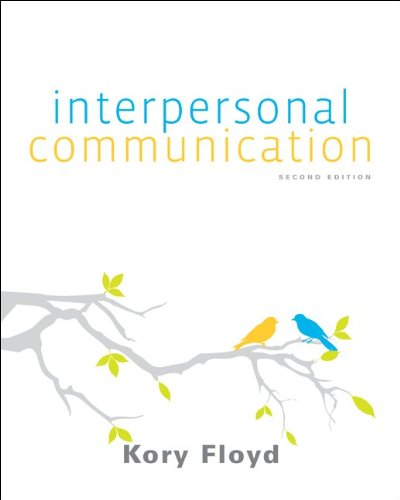 9780077602741: Floyd Interpersonal Communication 2e w/ Connect Plus Access Card