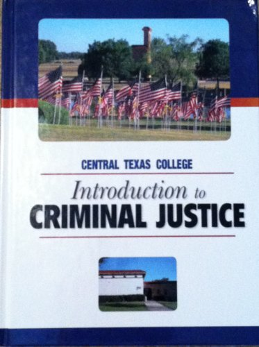 9780077602819: Introduction to Criminal Justice 7th Edition