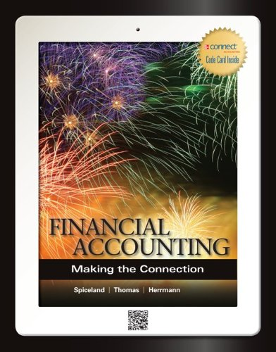 9780077606190: Financial Accounting: Making the Connection with Connect Access Card