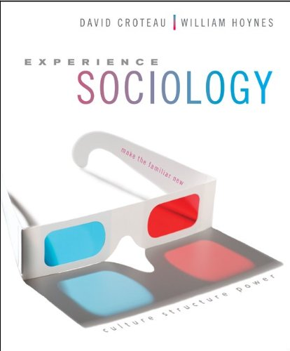 9780077606268: Experience Sociology With Connect Plus Access Card