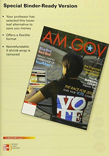9780077606381: LOOSELEAF FOR AM GOV 2012