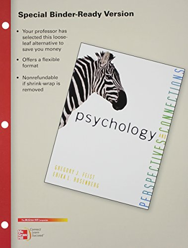 9780077606442: LOOSE LEAF FOR PSYCHOLOGY: PERSPECTIVES & CONNECTIONS