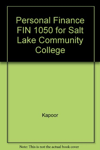 9780077607234: Personal Finance FIN 1050 for Salt Lake Community College