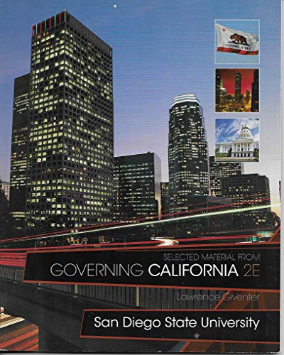 Governing California 2E San Diego State University: Lawrence Giventer