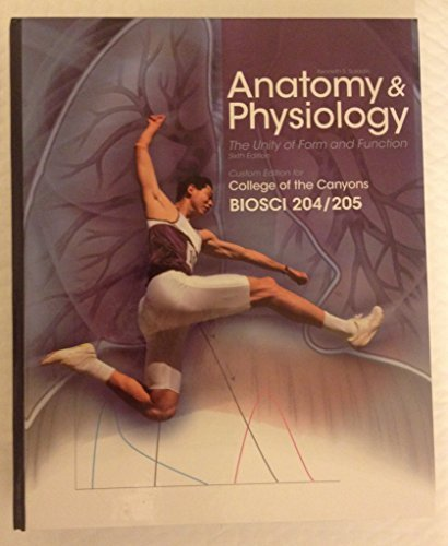 9780077608859: ANATOMY PHYSIOLOGY THE UNITY OF FORM AND FUNCTION