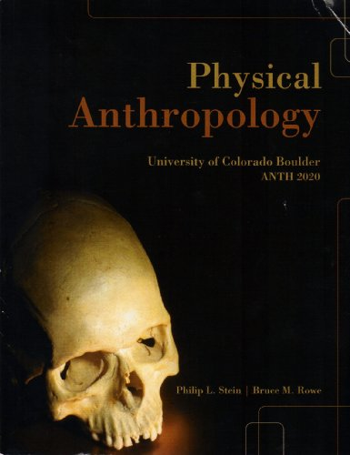 9780077609252: Physical Anthropology (University of Colorado Boulder ANTH 2020)