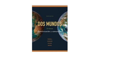 9780077609504: Dos Mundos University of Akron Edition 4th Edition