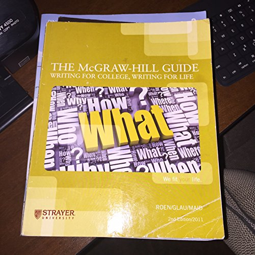9780077609795: McGraw-Hill Guide : Writing for College, Writing for Life (Custom) 2nd Ed. 2011 (includes McGraw-Hill Guide-Connect Plus Access 2nd Ed. 2011)