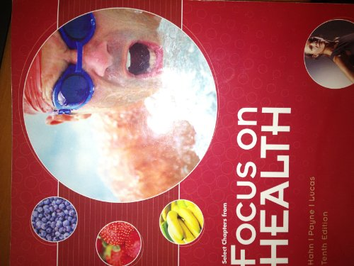 9780077610333: Select Chapters From Focus on Health