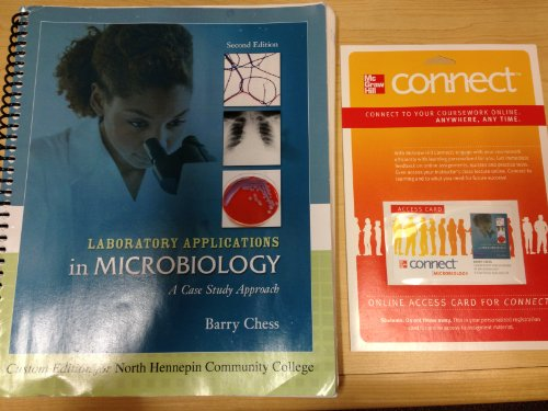 9780077612184: Laboratory Applications in Microbiology: A Case Study Approach *Custom Edition for North Hennepin Community College
