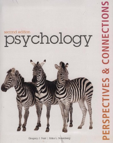9780077612412: Psychology Perspectives & Connections