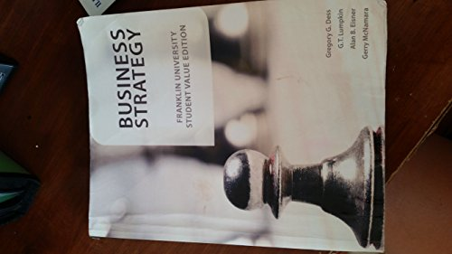 9780077613693: Business Strategy Franklin University Student Value Edition (Business Strategy)