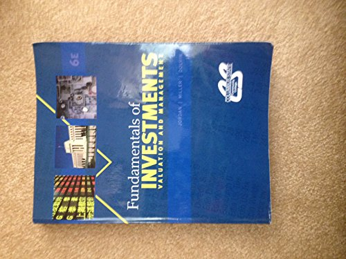9780077615147: Fundamentals of Investments: Valuation and Management