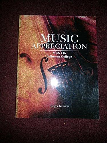 9780077616267: Music Appreciation (MUS 116 Fullerton College)