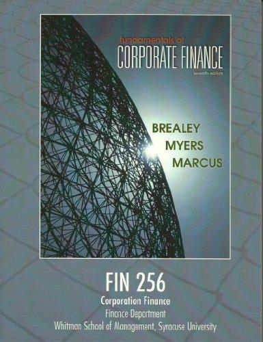 9780077616472: Fundamentals of Corporate Finance 7th Edition