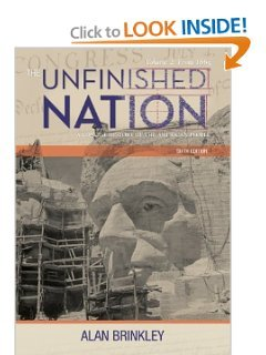 9780077616755: The Unfinished Nation: A Concise History of the American People, Volume 2