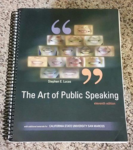 The Art of Public Speaking California