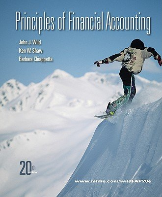 9780077619442: Principles of Financial Accounting 20th edition