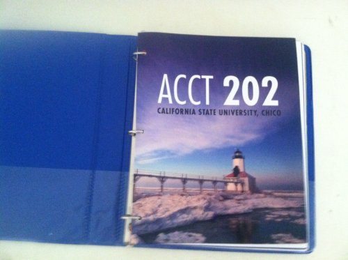 9780077620745: ACCT 202 (Managerial Accounting) California State University, Chico