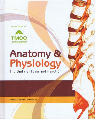 9780077621988: Anatomy & Physiology The Unity of Form and Function Custom Edition for TMCC Truckee Meadows Community College