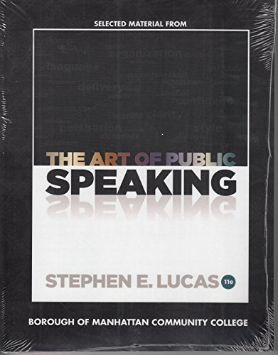 9780077622329: ART OF PUBLIC SPEAKING-W/ACCESS>CUSTOM<