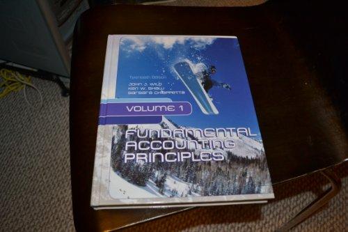 9780077622411: Fundamental Accounting Principles Volume 1