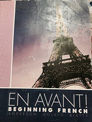 9780077624187: En Avant Beginning French Custom WSU Edition
