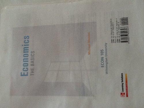 9780077624330: Economics the Basic Second Edition