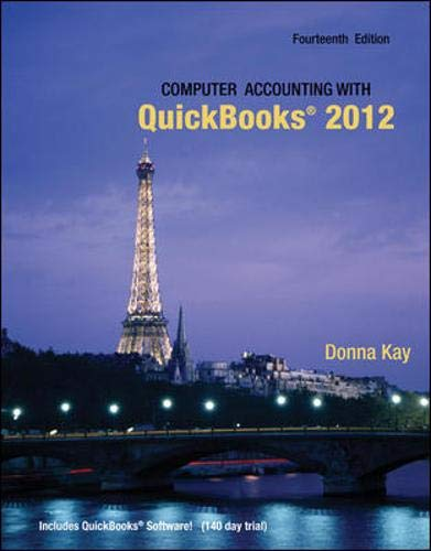 9780077624538: Computer Accounting with Quickbooks 2012 and Student CD