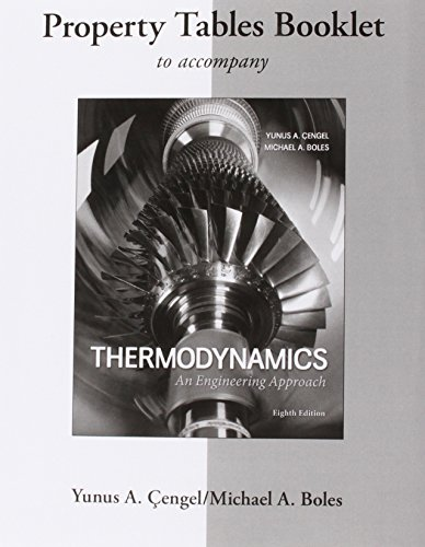 9780077624774: Property Tables Booklet for Thermodynamics: An Engineering Approach