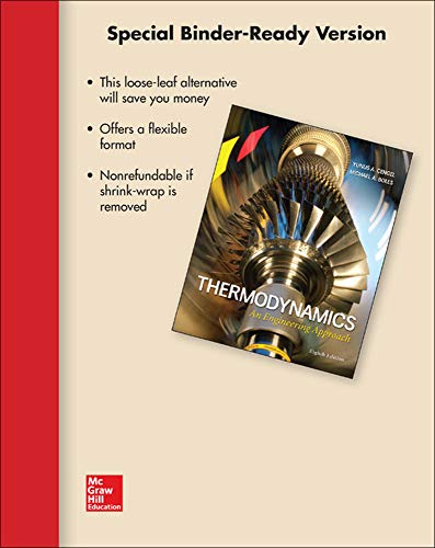 9780077624835: Loose Leaf for Thermodynamics: An Engineering Approach